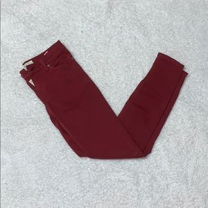 Red Brooke Legging Jeans by Lucky Brand